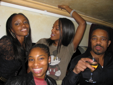 Blame it on the a a a achohol ... yep .. that's Joi Starr and friends..