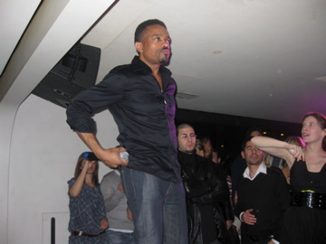 """performing at my party after """"Glow in the Dark"""" show in Paris"""