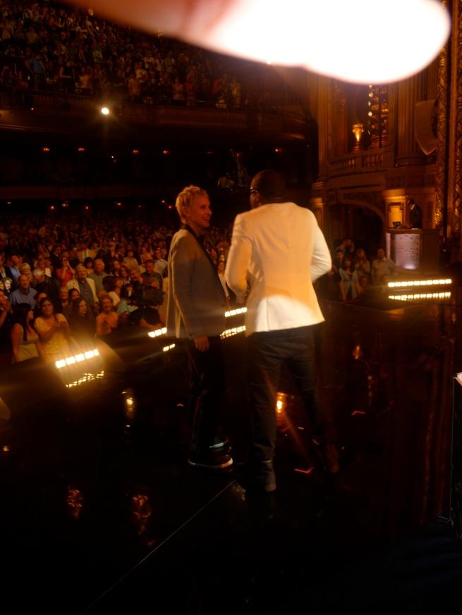 Ellen and Ye....