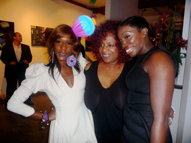"Joi's mom Mrs. Campbell and Estelle are ""sooo proud too"".."