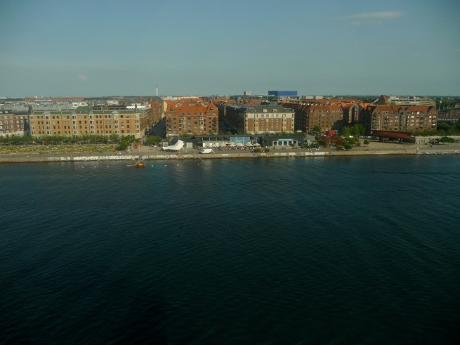 First stop Copenhagen, Denmark.  Check out this view from my hotel window.