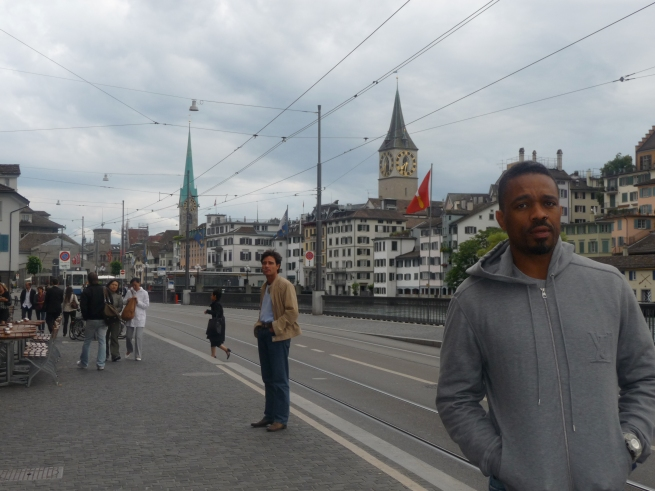 The tour ended up in Zurich, Switzerland... one of the dopest cities in the World.